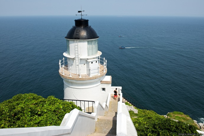 The Dongyin Lighthouse.
