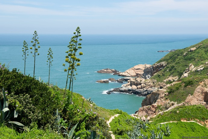 One of the greatest short hikes in Taiwan.  The Luoshan Trail in Beigan Island is short, but has stunning natural scenery.